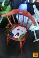 Customisation de meubles pour Emmaüs
