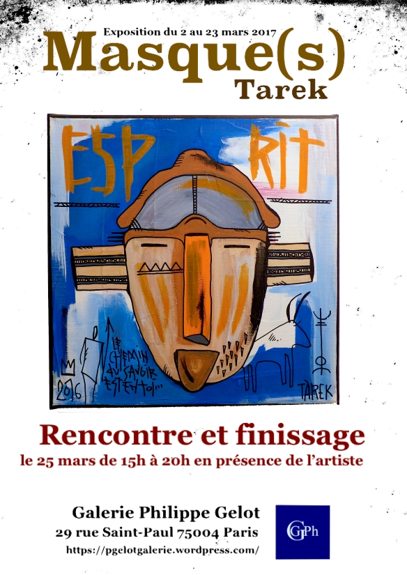 Affiche finissage Masque