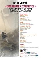 Affiche empreintes d'artistes 2017-fr
