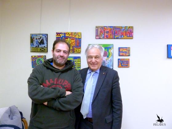 Tarek et le Maire de Moulins