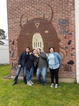 Faites le mur à Chauny