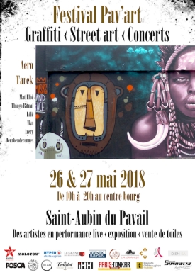 Affiche Pav'art