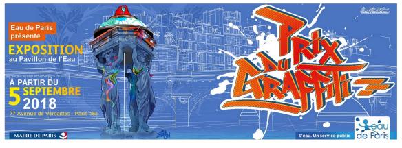 Lancement du PRIX du GRAFFITI & du STREET ART 2018
