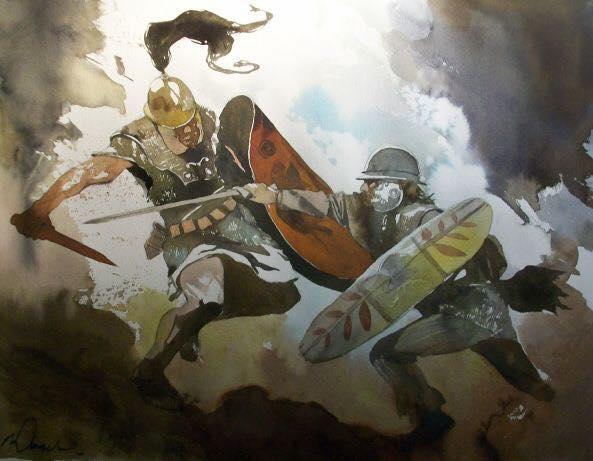 Notre série la Guerre des Gaules à l'honneur sur la RTBF