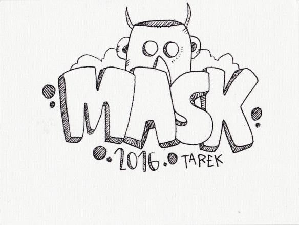 dessin mask