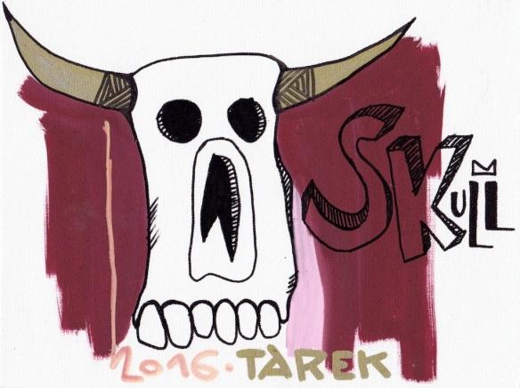 Skull dessin