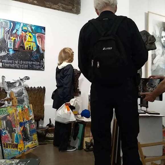 Exposition à la Galerie P. Gelot