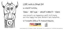 ENC invitation street art Tarek