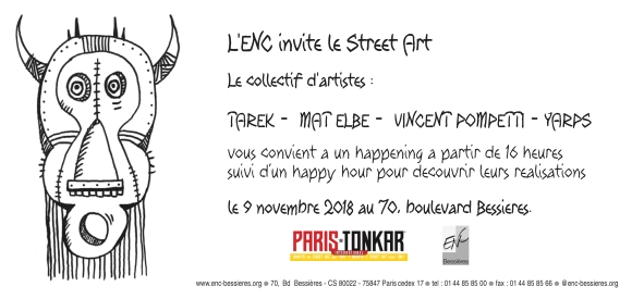 ENC invite le street art