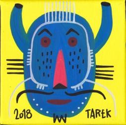 Masque bleu by Tarek
