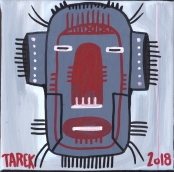 Masque gris by Tarek