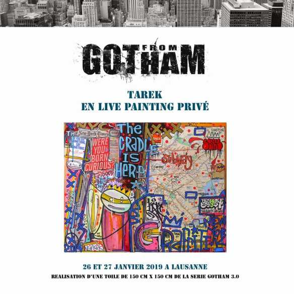 From Gotham Live Painting
