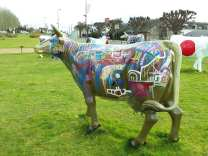 Street cow by Tarek