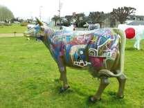 Street cow by Tarek