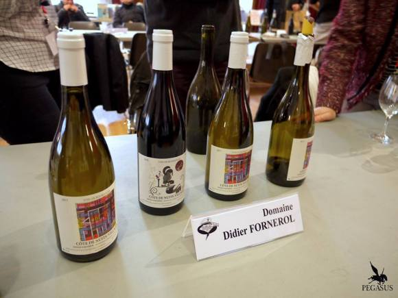 Vignette de vin de Bourgogne