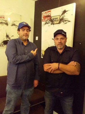 Tarek et Olivier Megaton