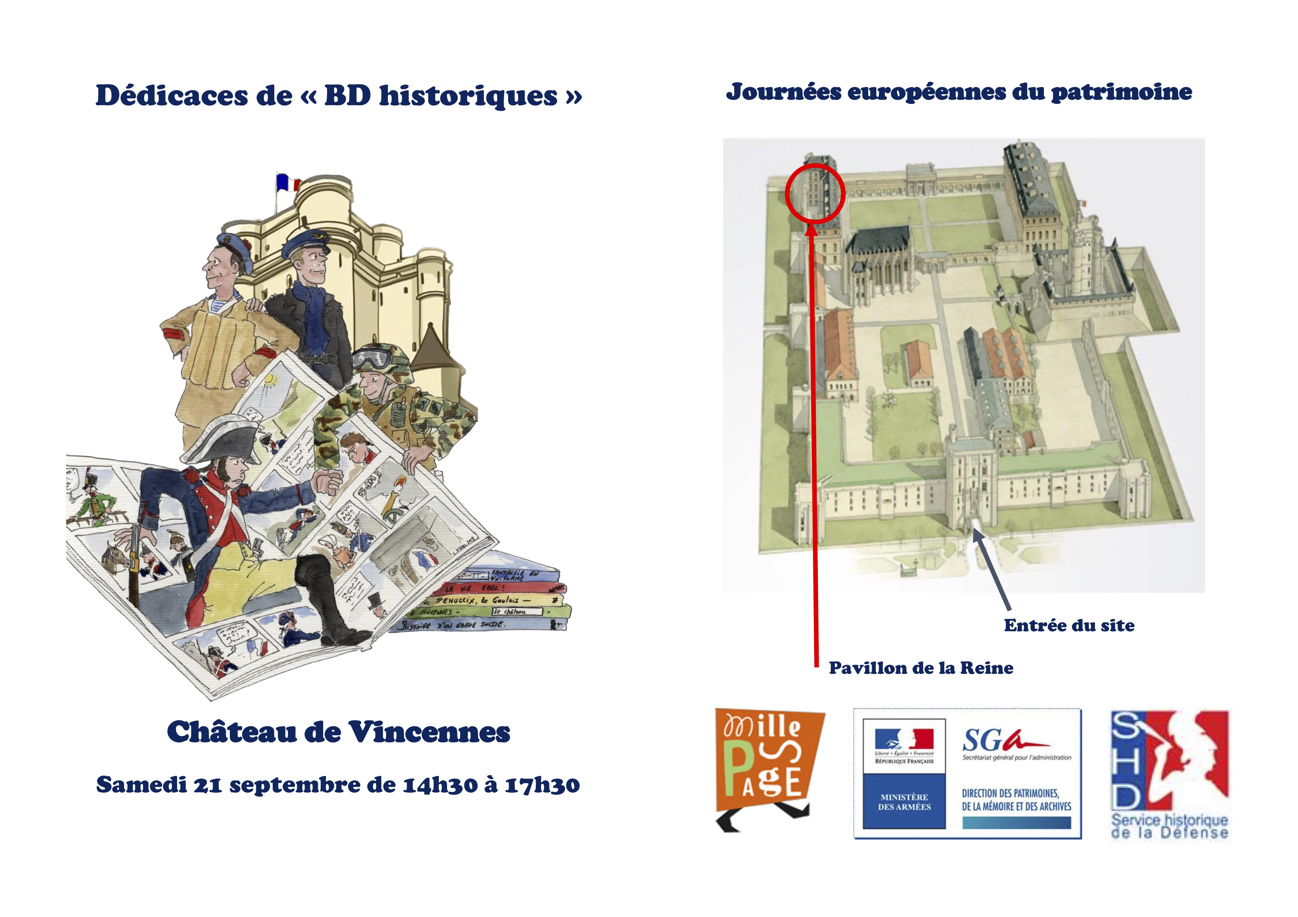 Flyer BD JEP Vincennes 2019