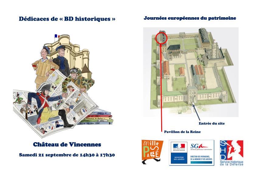 Flyer BD JEP Vincennes 2019