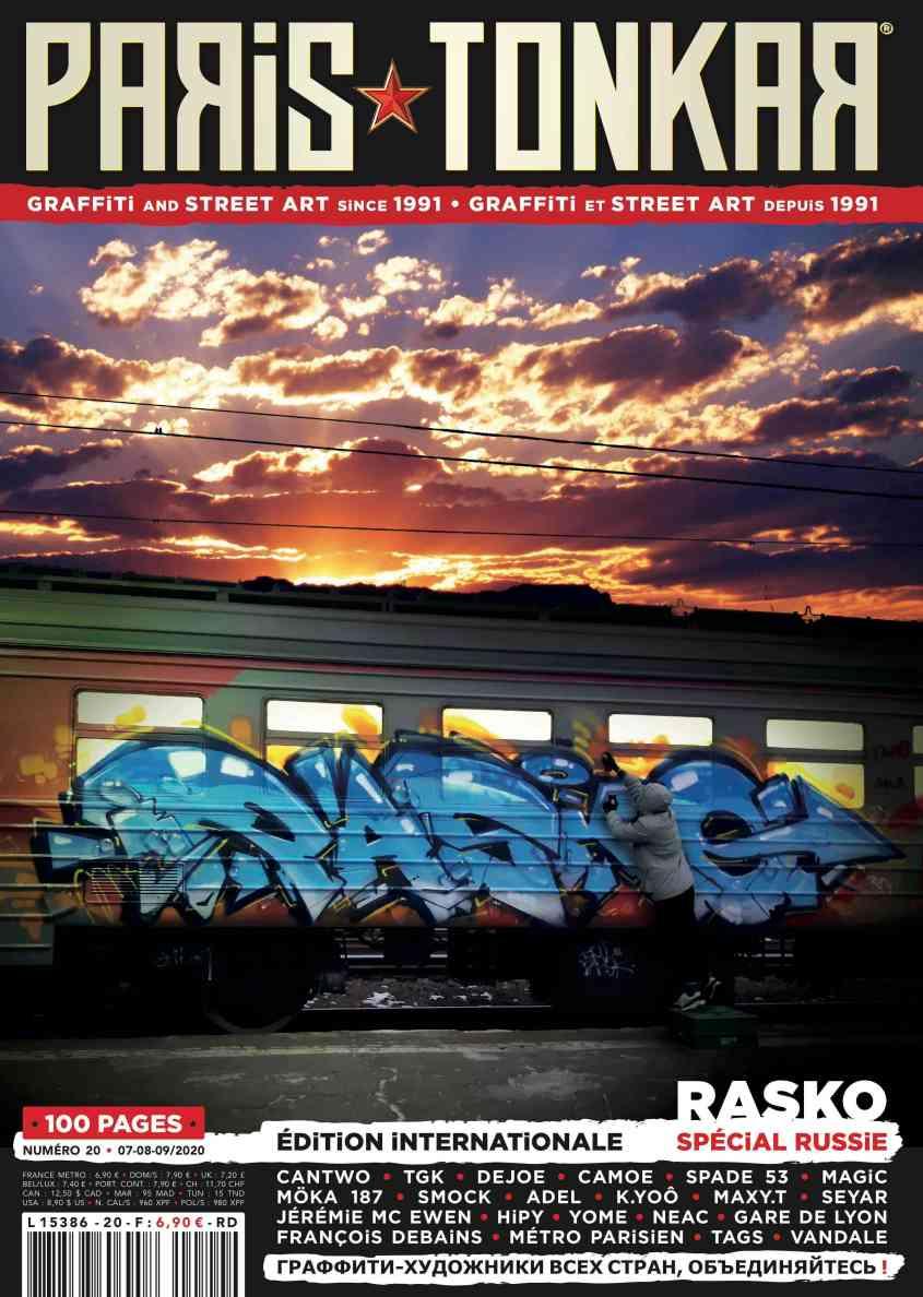 Paris Tonkar magazine 20